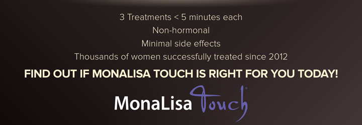 3 Treatments < 5 minutes eachNon-hormonalMinimal side effectsThousands of women successfully treated since 2012